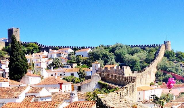 Óbidos em Portugal