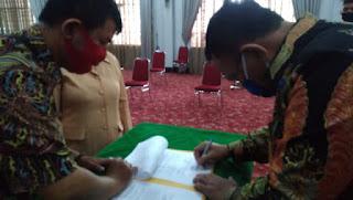 Pelantikan Ketua Dharma Wanita Persatuan (DWP) Sekda Kota Cirebon Dorong Peningkatan Ekonomi Anggotanya