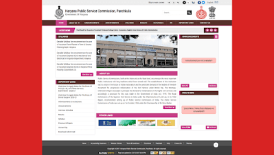 Haryana HCS & Allied Service recruitment Online Form 2021