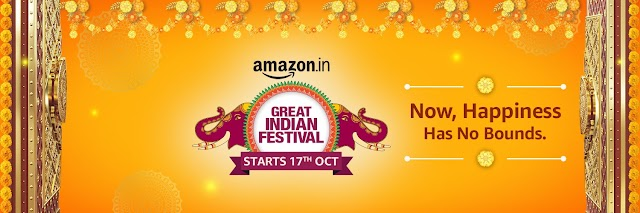 """अमेज़ॉन की """"The Big Billion Days 2020"""" सेल 17 अक्टूबर से - Amazon Prime Members के लिए 16th अक्टूबर से"""