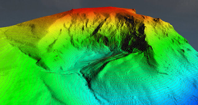3D map of the Lake Truchillas basin and Vizcodillo Peak (León) / J. Fernández-Lozano/ R. Andrés-Bercianos
