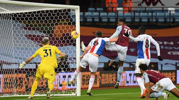 ملخص مباراة أستون فيلا وكريستال بالاس (3-0) اليوم في الدوري الانجليزي