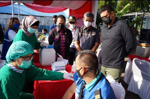 Bobby Nasution Berharap Vaksinasi Covid-19 Dilakukan Lebih Massif