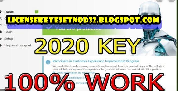 License Key Eset Nod32 Antivirus 13 0 22 0 Activation Working 2020 License Key Eset Nod32 Update