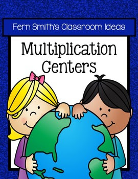 Earth Day Math Thirteen Quick and Easy to Prep Multiplication Center Games