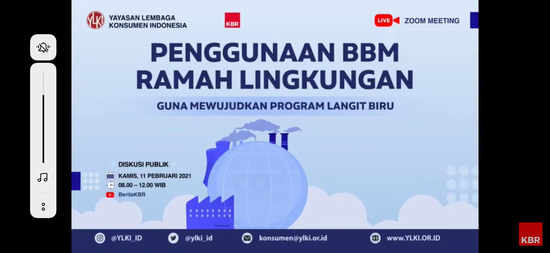Bersama Mewujudkan Program Langit Biru pertamax