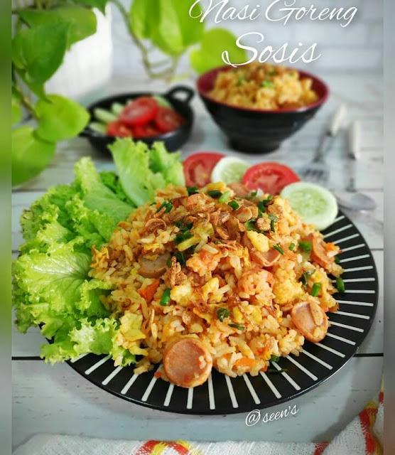 Resep nasi goreng sederhana tanpa telur
