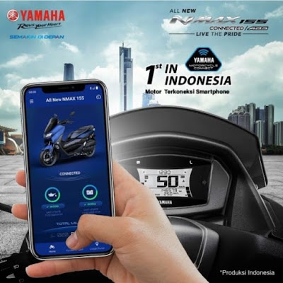 Fitur Y-Connect (Yamaha Motorcycle Connect)