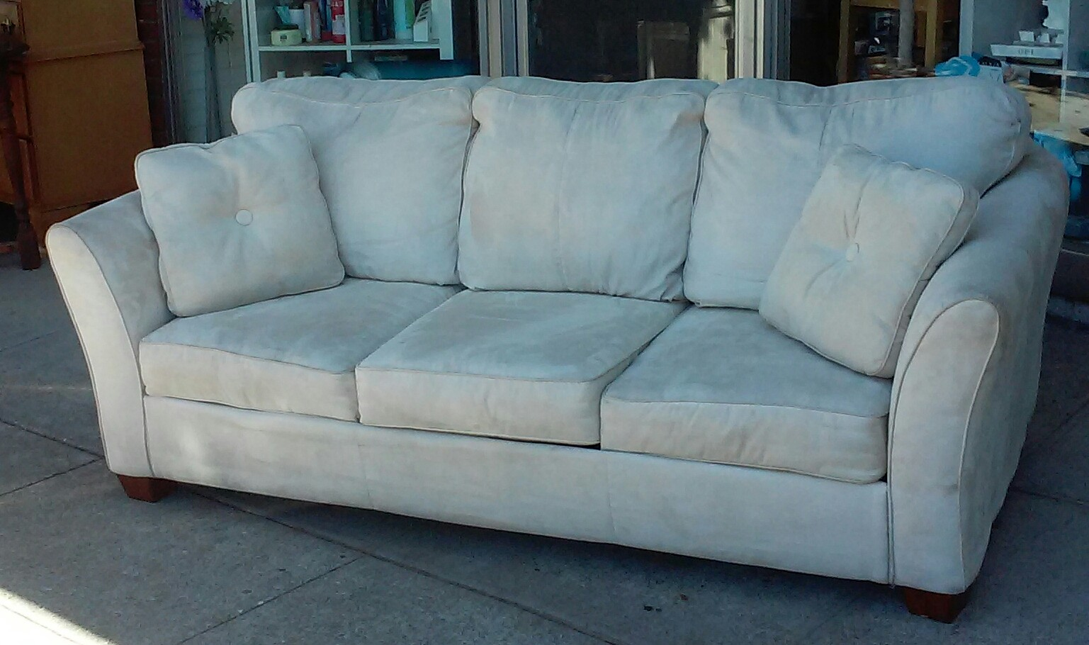 Sofa Bed Reduced Tuscan Style Leather Sofas Uhuru Furniture And Collectibles Sold