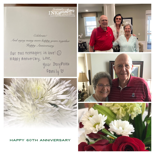 Memories of my parents' 60th Anniversary celebration!   Nature's INKspirations by Angie McKenzie