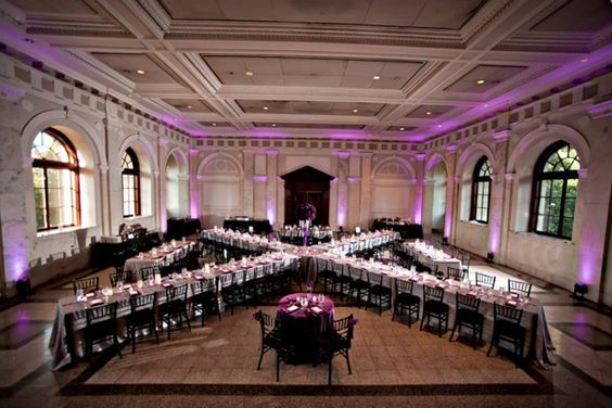 """Aisle"" Say...Unique Floor Plans For Your Wedding"