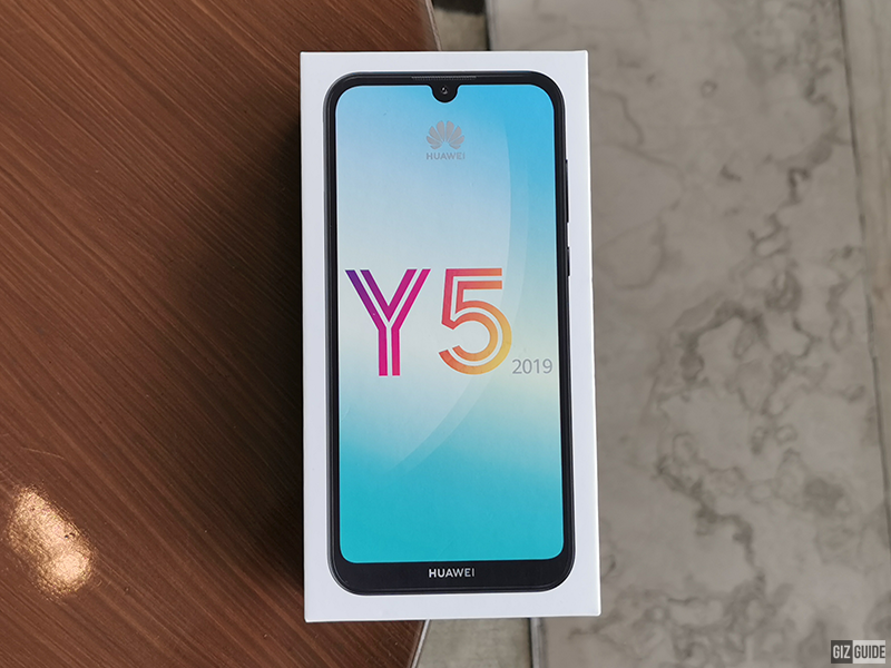 Huawei Y5 2019 box