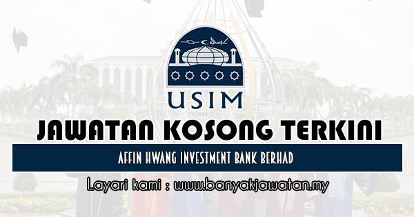 Jawatan Kosong 2019 di Universiti Sains Islam Malaysia (USIM)