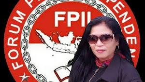 KASIHHATI KETUA PRESIDIUM FPII :DEWAN PERS TIDAK PUNYA WEWENANG MEMVERIFIKASI MEDIA & WARTAWAN