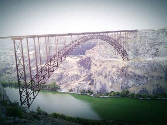 Perrine Bridge, Idaho, Amerika Serikat