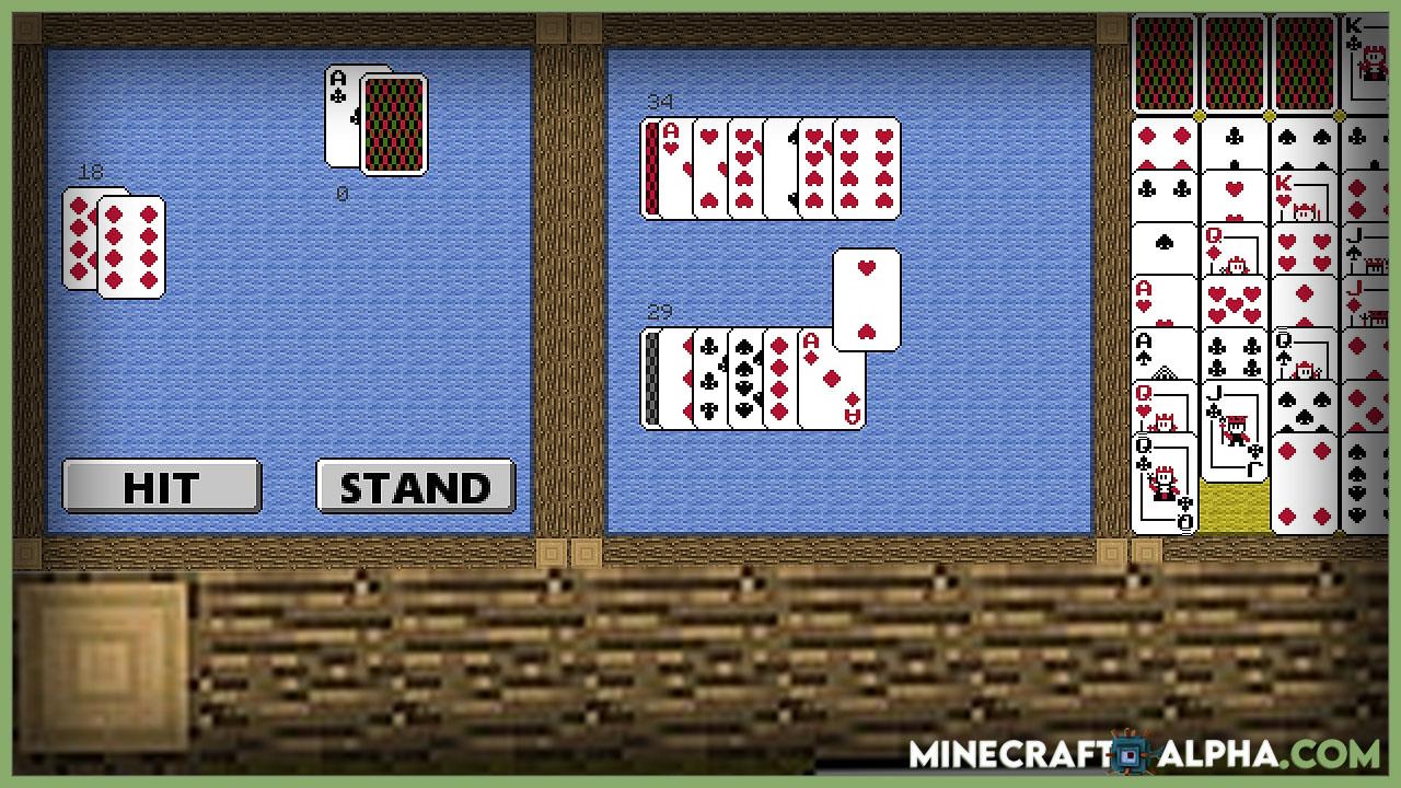 Minecraft CasinoCraft Mod 1.17.1 (Gambling in Minecraft)