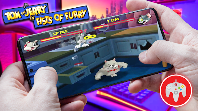 Tom and Jerry in First of Furry  Para Teléfonos Android (ROM N64)