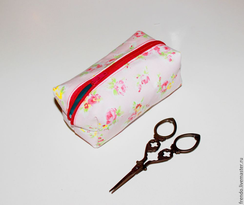 Sewing a Cute DIY Vanity Bag Tutorial