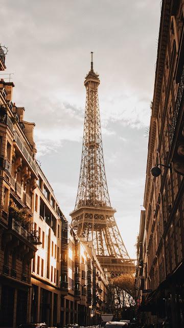 City, Paris, Eiffel Tower, Building, Architecture, Street
