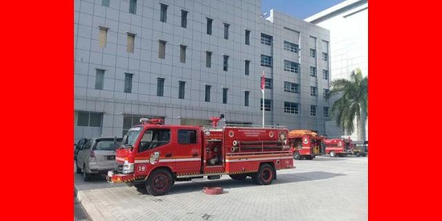 RSUD Arifin Achmad Pekanbaru Kebakaran