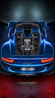 Porsche 918 Hybrid Car Mobile HD Wallpaper