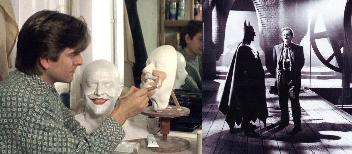 Artista faz os prostéticos de Jack Nicholson