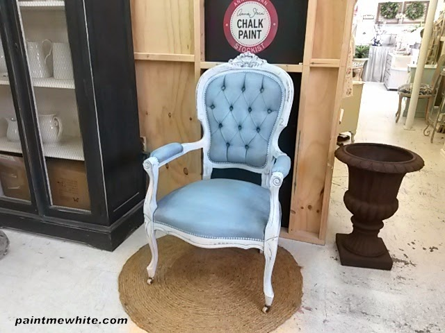 Paint Me White Painting Fabric Velvet With Annie Sloan