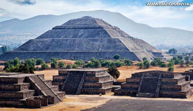Homokvárként omolhat össze a mexikói Nap-piramis