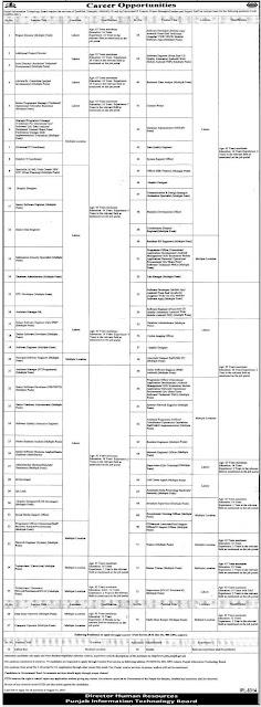 Latest Govt Jobs-Punjab Information Technology Board jobs in Pakistan 2021