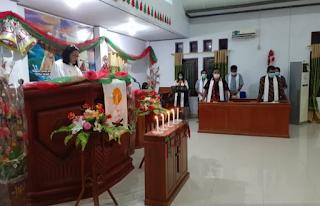 Misa Malam Natal di Gorontalo Utara Lancar Kondusif
