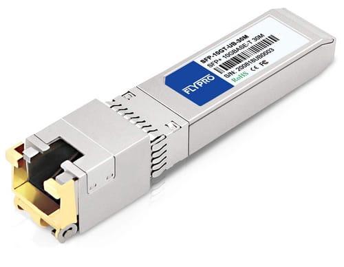 FLYPROFiber 10GBase-T RJ45 Transceiver for Ubiquiti