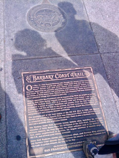 San Francisco's Barbary Coast Trail - Signage