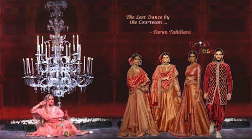 Manjari Chaturvedi performing Sufi Kathak to showcase Tarun Tahilani's bridal collection