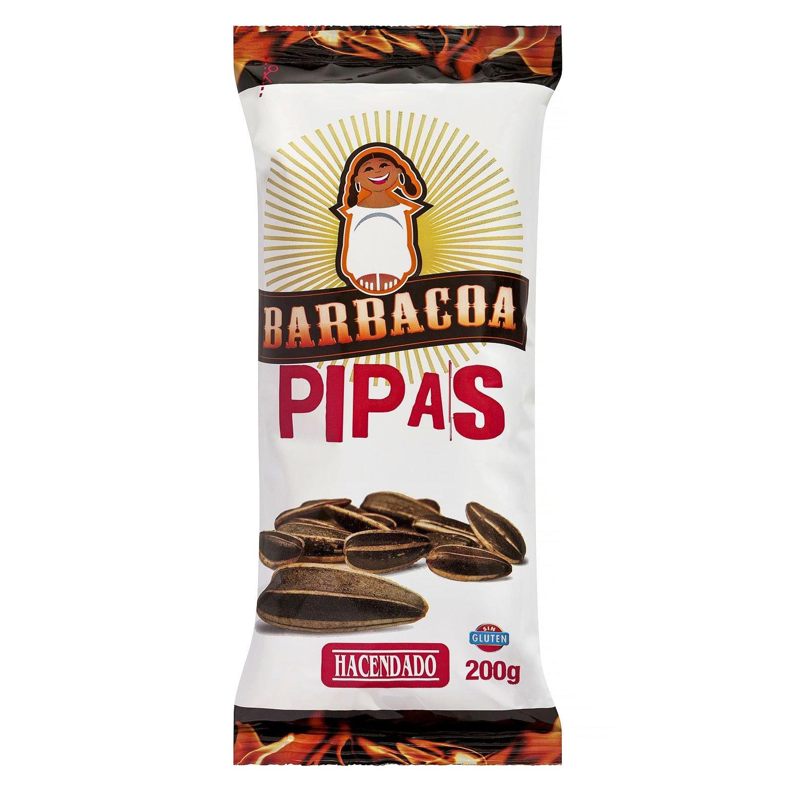 Pipas de girasol sabor barbacoa Hacendado
