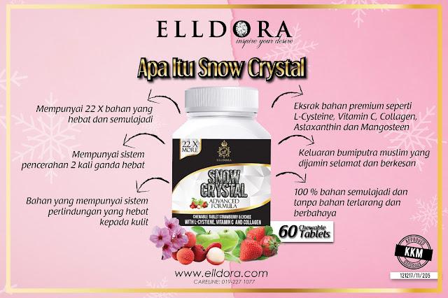 Elldora Snow Crystal| Kunyah-Kunyah Je Wajah Cantik Menawan