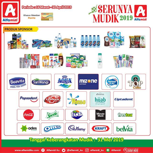 #Alfamidi -  #Promo Seru Mudik 2019 (s.d 30 April 2019)