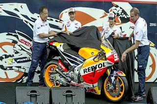 Honda Luncurkan Motor MotoGP 2017 Marquez dan Pedrosa di Jakarta