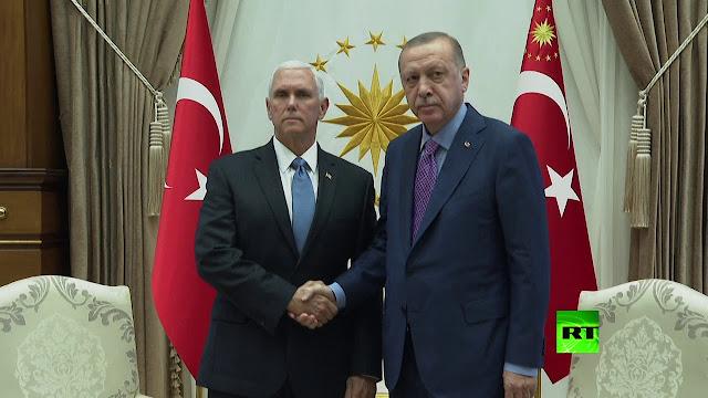 أنقرة وواشنطن تتفقان على تعليق العملية العسكرية التركية في سوريا.. وترامب يغرد