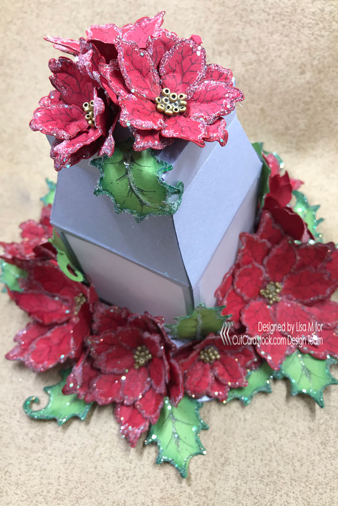 Cutcardstock affordable cardstock for all your papercrafting sparkling paper poinsettias do you love to make fancy shaped flowers but dont like the time it takes to color them i also like to color the back sides mightylinksfo