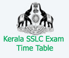 kerala sslc time table 2017