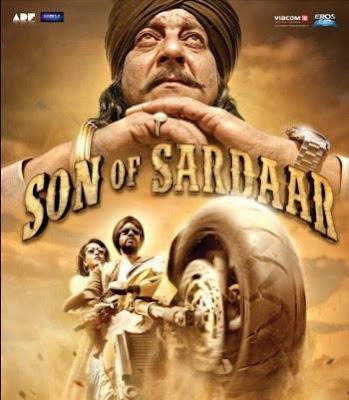 Son of Sardaar 2012 Hindi Movie Free Download BRRip 480p 400mb