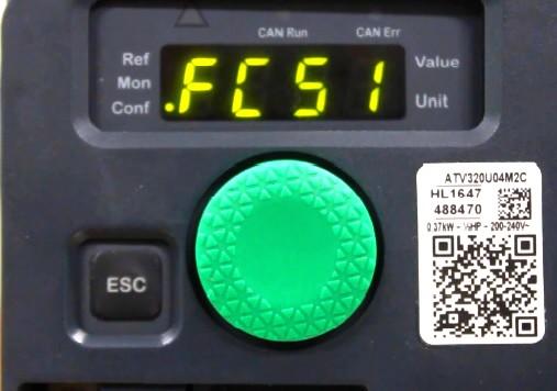 Parameter FCS1 Altivar ATV320