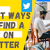 Here's how you utilize Twitter to seek jobs in 2021.