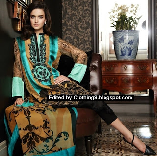 Firdous Fashion Eid Festive Collection 2015