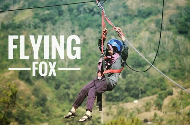 Flying Fox di Bukit Cekong