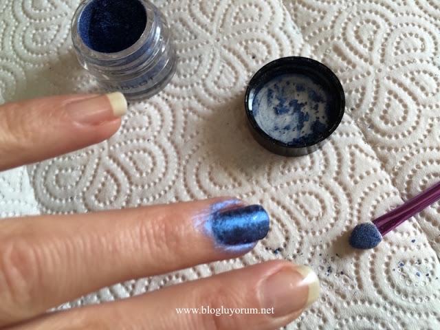 inglot pigment far nail art