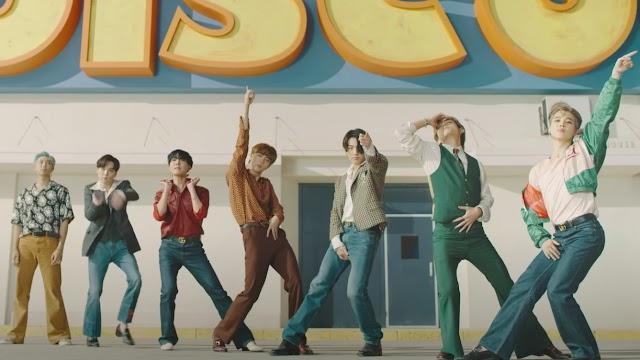 "BTS Performs ""Dynamite"" on AGT - America's Got Talent 2020 | Jimin's Gucci Jacket"