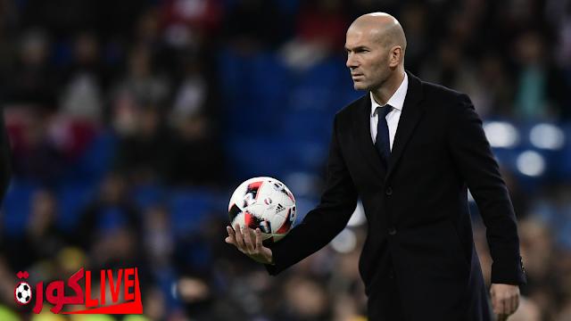 البحث حول مشاكل زيدان لحلها في ريال مدريد