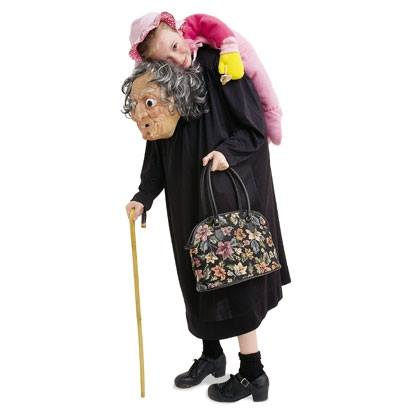 Unique Grim Granny Costume