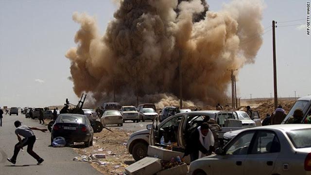 Οι Ρώσοι μισθοφόροι στην πρώτη γραμμή της μάχης της Τρίπολης